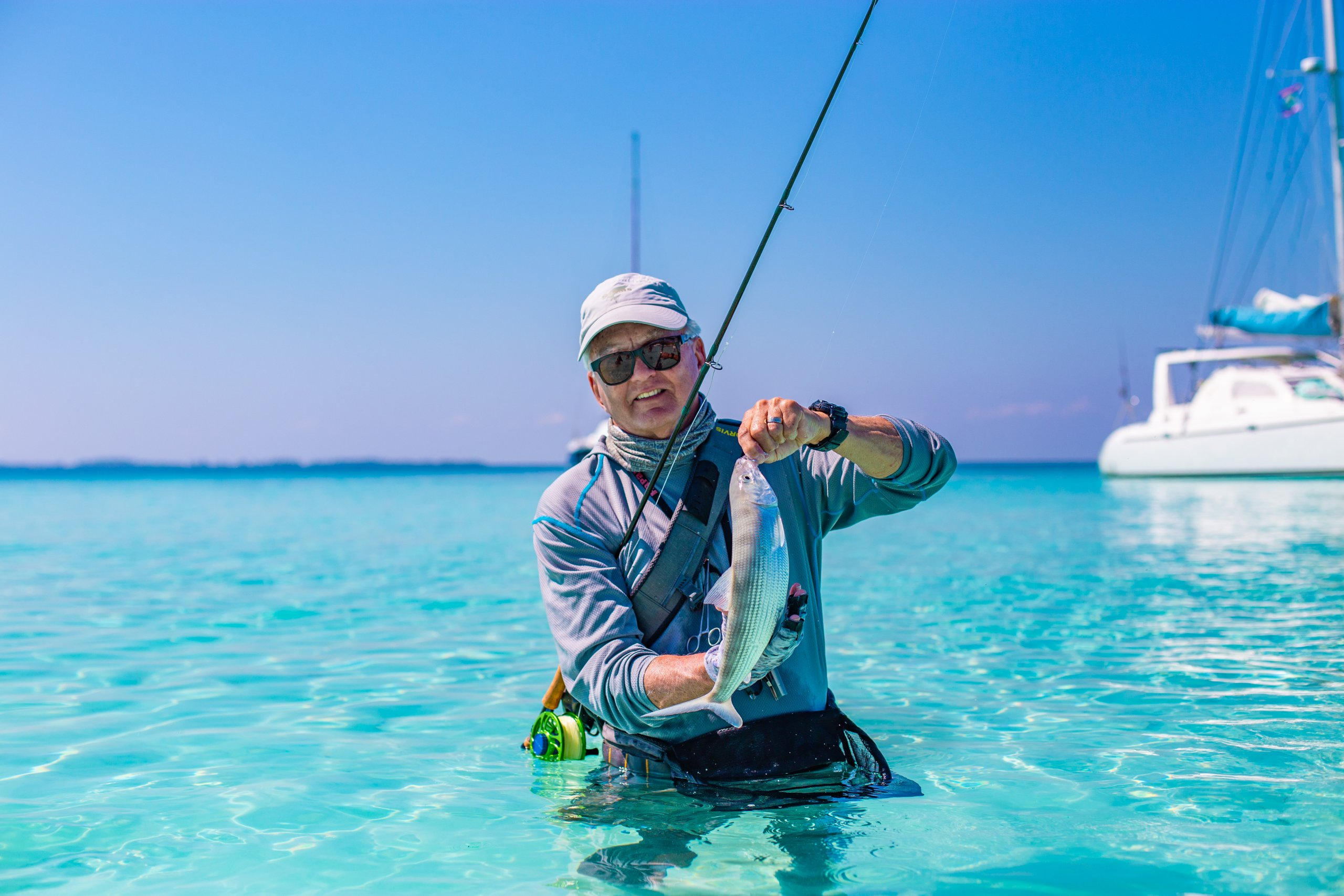 Amazing score for fly fishing enthusiast at Ray Caye, Belize!