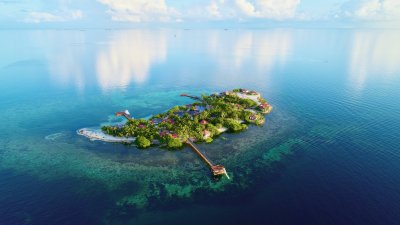 The Most Romantic Private Island Resort To Stay in Belize